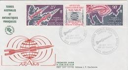 Kerguelen  26 JAN 75  PA 41 A  Premier Jour Sur FDC  (ARAKS) - Französische Süd- Und Antarktisgebiete (TAAF)
