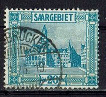Saargebiet 1923 // Mi. 99 O - Oblitérés