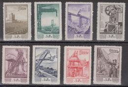 PR CHINA 1954 - Industrial Development MNH Complete Set - 1949 - ... Repubblica Popolare