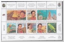 Venezuela 1998, Postfris MNH, Ship, Bird, Fish ( One Site Folded See Scan ) - Venezuela