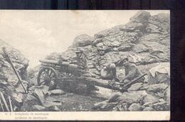Italië Italy Italien - Artiglieria Da Montagna - 1915  - La Guerra Italiana - Italy