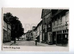 232857 GERMANY Parchim Mecklenburg ADVERTISING On Street OLD - Parchim