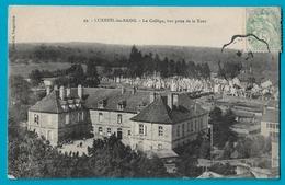 Luxeuil Les Bains Le Collège Vue Prise De La Tour - Luxeuil Les Bains