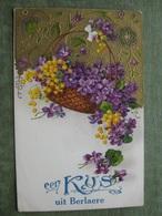 BERLARE - EEN KUS UIT BERLAERE 1936 ( Reliëfkaart ) - Berlare