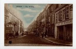 ORTHEZ - 64 - Béarn - Rue St Gilles (Café De Voyageurs) - Orthez