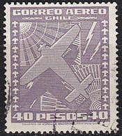 CHILE [1934] MiNr 0218 ( O/used ) Flugzeuge - Chile