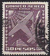 CHILE [1934] MiNr 0219 B ( O/used ) Flugzeuge - Chile