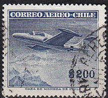 CHILE [1955] MiNr 0502 ( O/used ) Flugzeuge - Chile