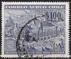 CHILE [1956] MiNr 0522 ( O/used ) Architektur - Chile