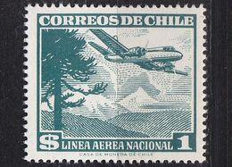 CHILE [1959] MiNr 0550 X ( **/mnh ) Flugzeuge - Chile