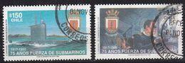 CHILE [1992] MiNr 1518-19 ( O/used ) Schiffe - Chile