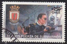 CHILE [1992] MiNr 1519 ( O/used ) Schiffe - Chile