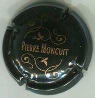 CAPSULE-CHAMPAGNE MONCUIT Pierre N°04 Noir & Or - Altri