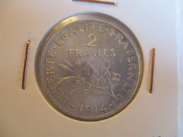 France: 2 Francs 1914 - I. 2 Francs