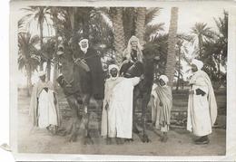 PHOTO -  Couple Sur Chameau En Habit De Cérémonie -  Ft 18 X 12,5 Cm - - Afrika