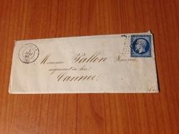 LORGUES (83-var) -  PC 1760 -  Lettre écrite - ( Port à Ma Charge ) - 1849-1876: Classic Period