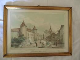 Suisse: Vue D'Yverdon Vers 1832 - Litografia