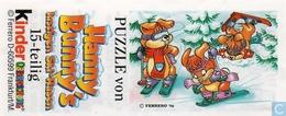 BPZ Hanny Bunnys / Puzzle Links Unten - Ü-Ei