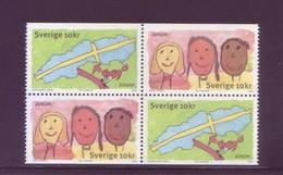 Europa CEPT 2006 - Svezia, Integrazione. Blocco Di 4v MNH** - 2006