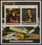 Burundi - 1974 - N°Mi. Bloc 81 - Letre écrite - Neuf Luxe ** / MNH / Postfrisch - Burundi