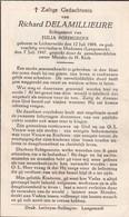 Lichtervelde, Madonna, 1947, Richard Delamillieure, Bourgeois - Imágenes Religiosas