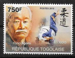 TOGO  N° 2251  * *   Art Martiaux  Judo - Judo
