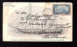 1933 S.S. Royal William 1st Vessel To Cross The Atlantic Under Steam > Steenstra Haarlem Waldeck Pyrmontstr Alkmaar (114 - 1911-1935 Règne De George V