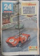 24 H Du Mans 1961.Ferrari-Panhard DB.Moss,Gendebien,Trintignant,Rodriguez.Dessin De Bricut - Journaux - Quotidiens