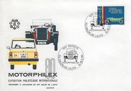 Switzerland 1980  Motorphilex  6-16.3.80  Mi.1173 - Switzerland
