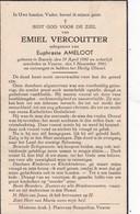 Stavele, Veurne, 1941, Emiel Vercoutter, Ameloot - Images Religieuses