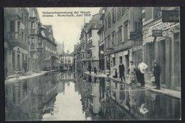 Rorschach - Überschwemmung Der Hauptstrasse - 1910 - SG St. Gallen