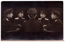 Multi-portrait-VINTAGE- Russia -Officer-Tiflis -Multigrph-1915-Photo - Russia