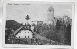 AK 0297  Ruine Prandegg Beu Gutau - Verlag Reichmann Ca. Um 1930 - Freistadt