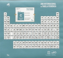 PORTUGAL - International Year Of The Periodic Table - Souvenir Sheet - Chimie