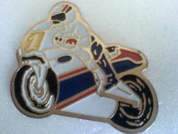 Pin's Moto De  Course Rothmans - Motos