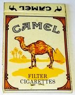 Vieux Matchbook, Old Matchbook, Antigua Cartera De Cerillas - Camel - Cajas De Cerillas (fósforos)