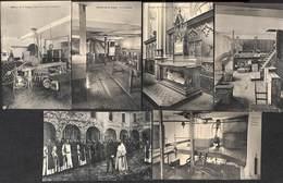 Chimay - Abbaye De La Trappe - Lot 13 Cartes (Brasserie Fromagerie Animée,,,, Edit. L. Ernult-Hütten) - Chimay