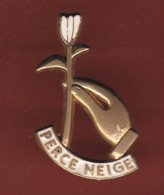 59532-Pin's.association Perce Neige.yves Montand.fleur.... - Associations