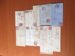 +++ Kleine Sammlung Nord Deutscher Postbezirk 10 Briefe Ab 19870 +++ - Sellos