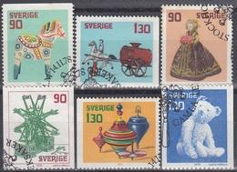 SUECIA 1978 Nº 1027/1032 USADO 1º DIA - Gebraucht