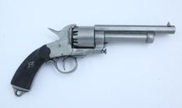 DENIX PISTOLET LEMAT DE LA GUERRE CIVILE, USA 1855 3 Cm 1475 G 107007 - Armes Neutralisées