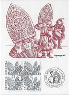Switzerland 1984  KUSSNACHT AM RIGI  5.12.84  Mi.1281 - Maximum Cards