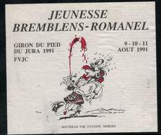 Etiquette De Vin // Morges, Jeunesse De Bremblens-Romanel - Other