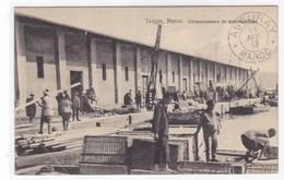 Maroc - Tanger - Débarquement De Marchandises - Tanger