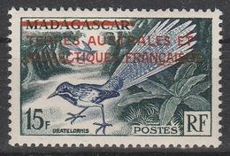 N° 1* MADAGASCAR SURCHARGE - Terres Australes Et Antarctiques Françaises (TAAF)