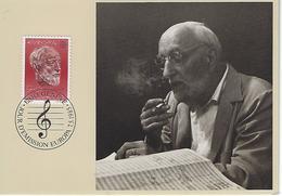 Switzerland 1985  Ernest Ansermet  7.5.85  Mi.1294 - Maximum Cards