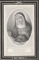 Mathilde Sophie Bibienne  Haemers-oostvleteren-louvain 1881 - Devotieprenten