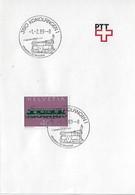 Switzerland 1989  KONOLFINGEN  1.2.89  Mi.1215 - Postmark Collection