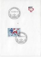 Switzerland 1990  ALLMENDINGEN  12.3.90  Mi.1412 - Postmark Collection