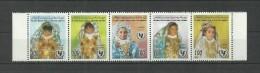1998- Libya- Children's Day – UNICEF- Folklore Women Jewellery Dressing – Strip Of 5 Stamps MNH** - Libya